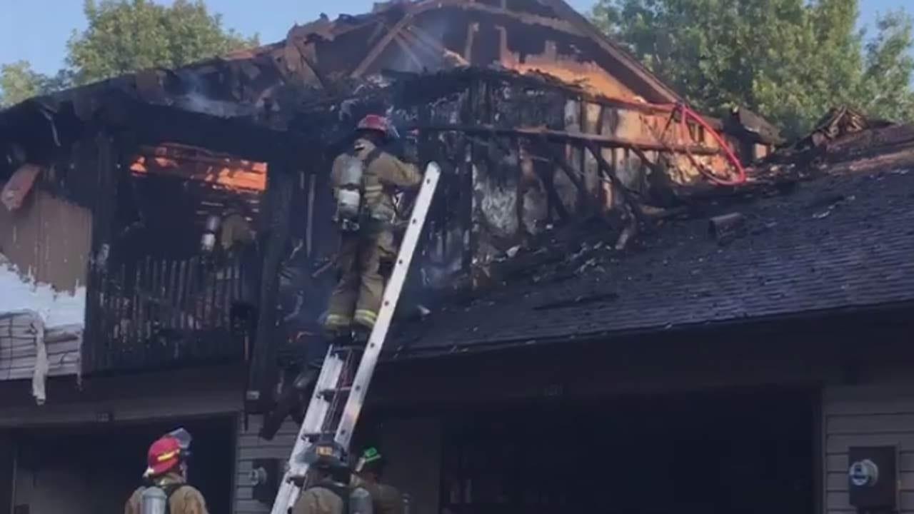 Girl Transported In Serious Condition From Tulsa Apartment Fire