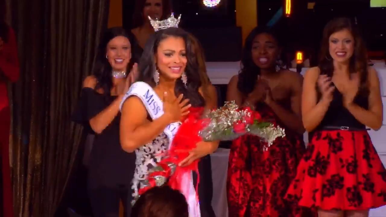 Triana Browne Crowned Miss Oklahoma 2017