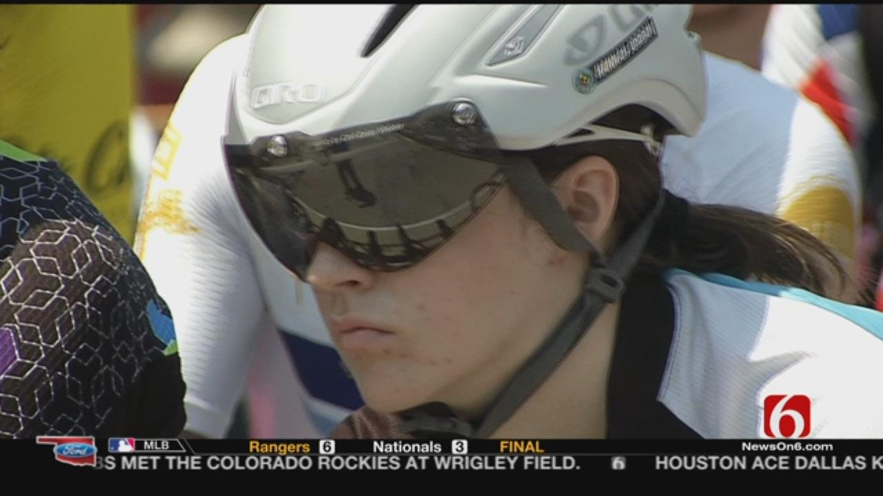 Tulsa Teen Cyclist Beats The Odds - And Other Racers