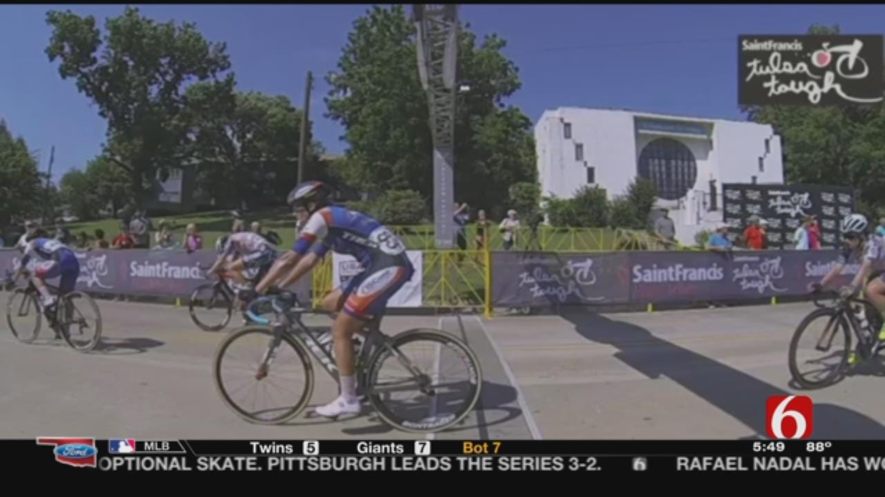 Tulsa Toughest: Cycling Event Wraps Up With Cry Baby Hill