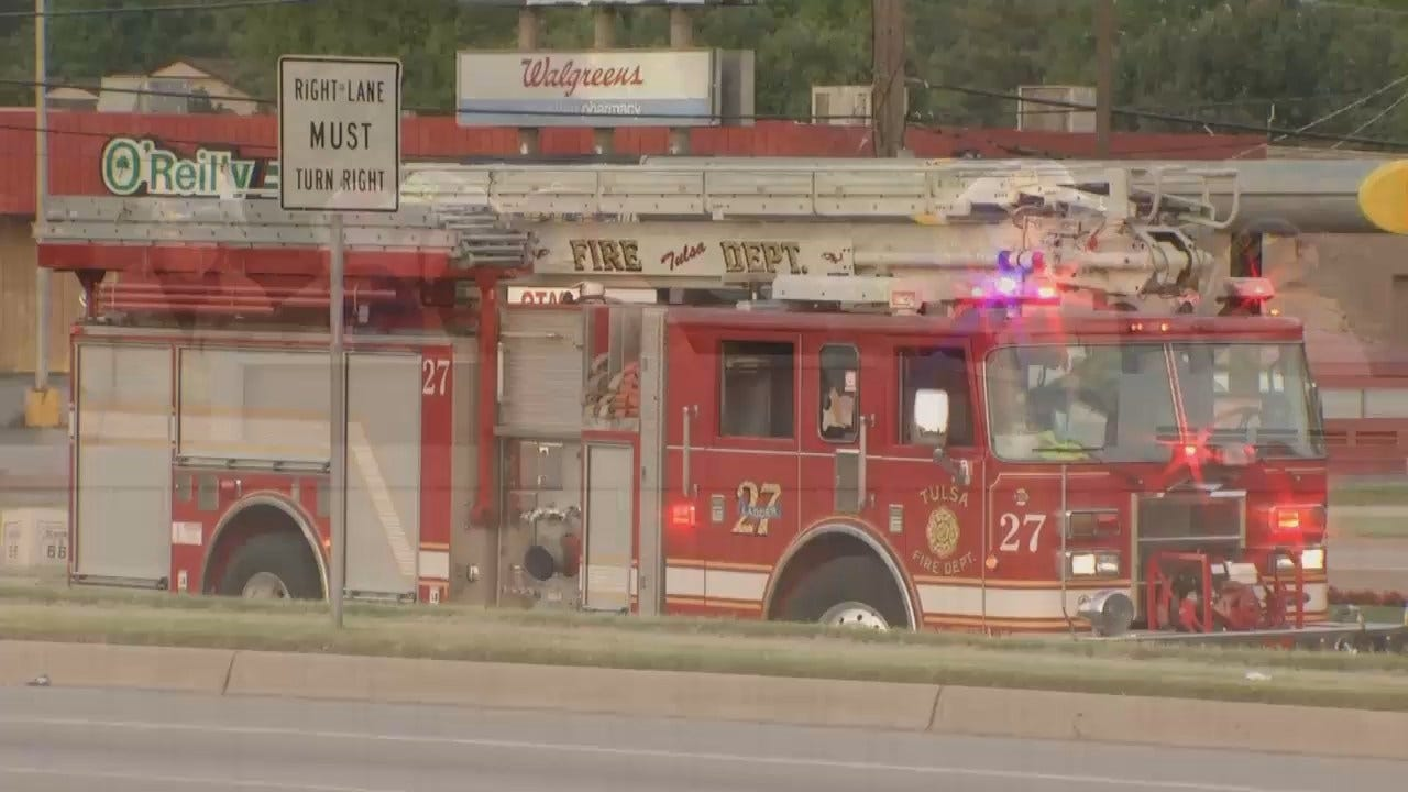 WEB EXTRA: Video From Scene Of Fire At Tulsa Sonic