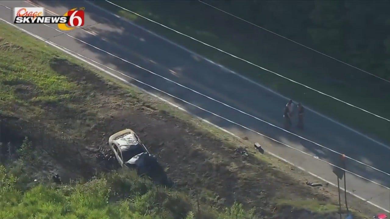 Osage SkyNews 6 HD Flies Over Fatal Washington County Crash