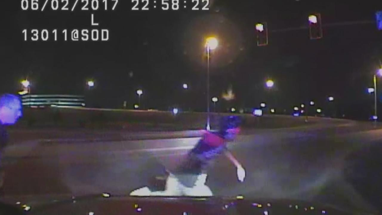 WATCH: Tulsa Police Release Video Of Fatal Shooting
