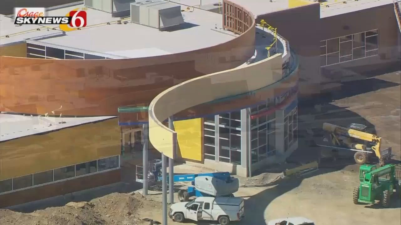 Osage SkyNews 6 HD Flys Over Broken Arrow's Newest Elementary School