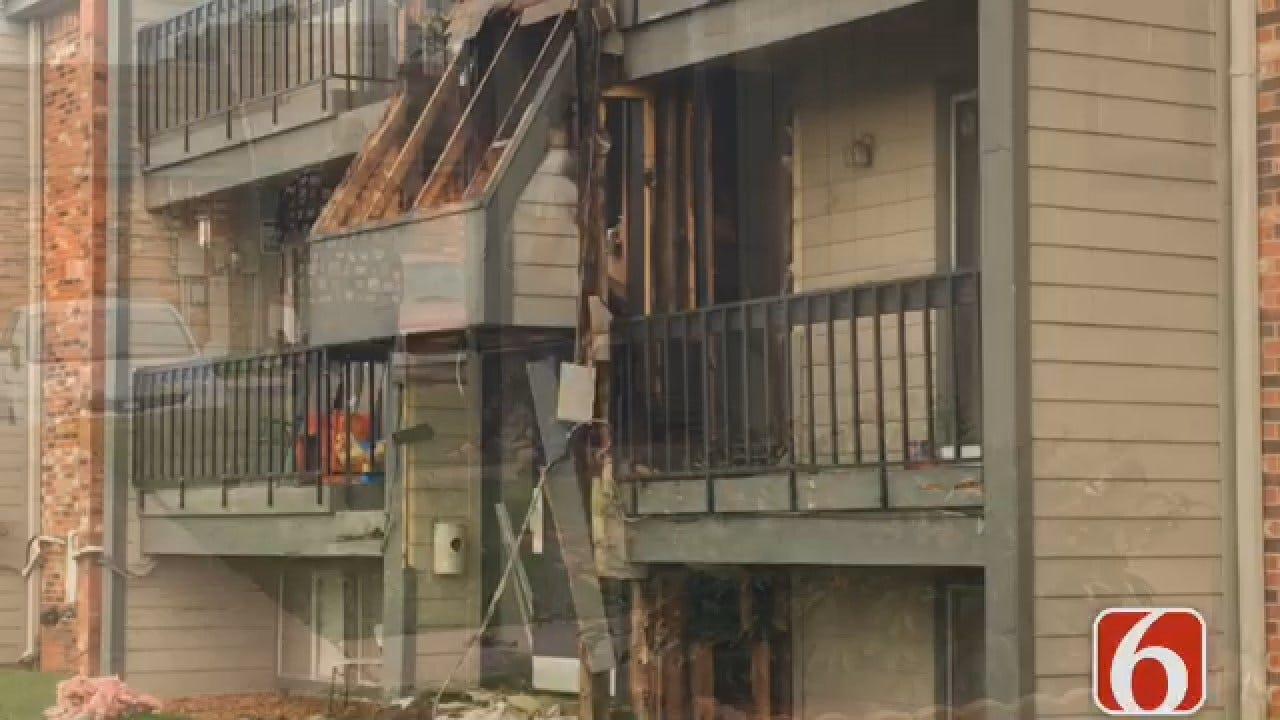 Joseph Holloway Reports On Owasso Apartment Building Fire