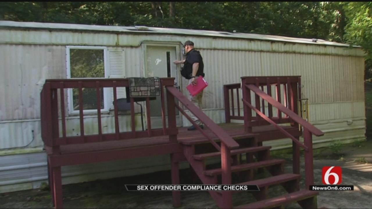 Deputies Conduct Sex Offender Compliance Checks In Northeast Oklahoma