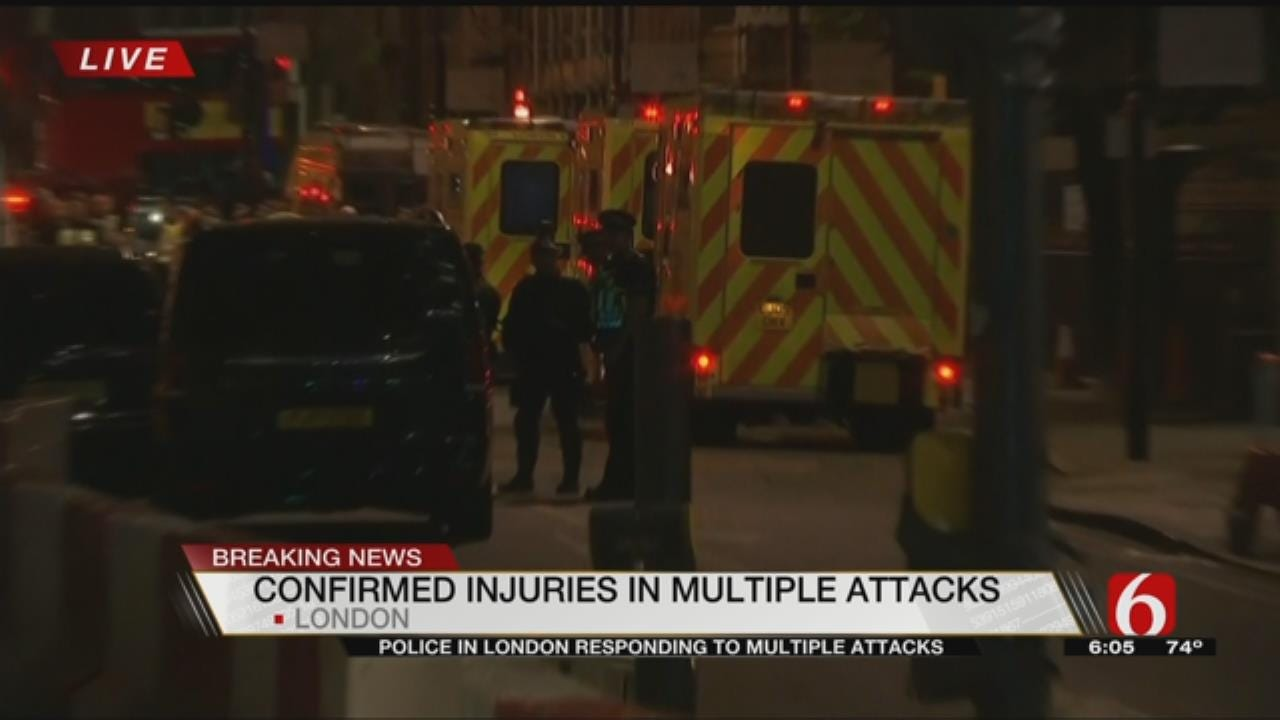 London Attack: British Police Say 2 Attacks 'Terrorist Incidents'