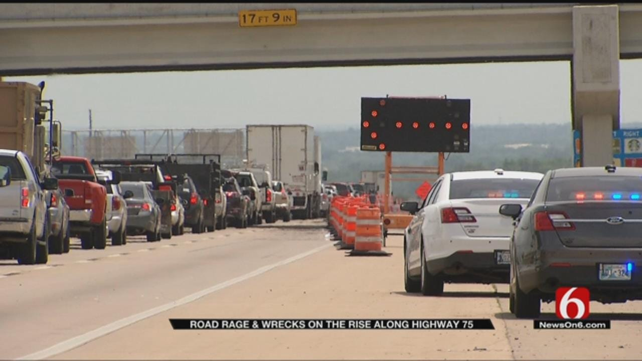 Road Rage, Wrecks Lead To More Tickets On Jenks Highway