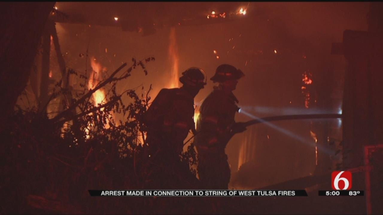 Tulsa Man Arrested For Second-Degree Arson