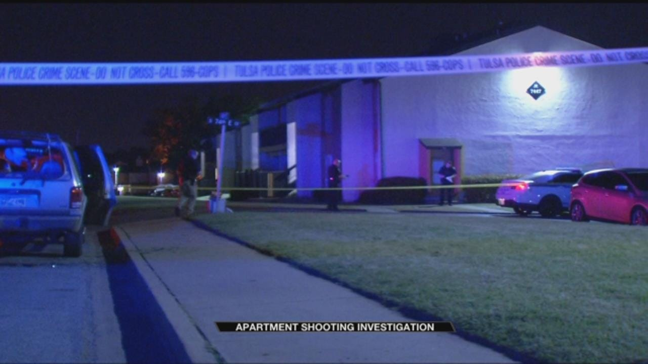 Shooting At Tulsa Apartment Complex Wounds Two