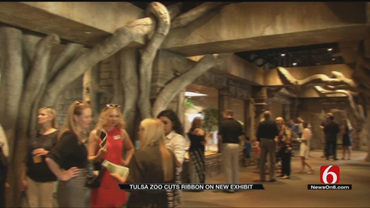 Tulsa Zoo Cuts Ribbon On New 'Lost Kingdom' Attraction