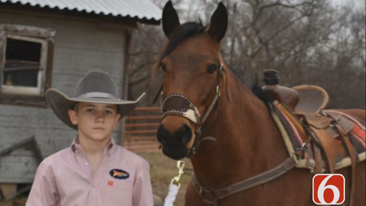 Tess Maune: 13-Year-Old Creek County Cowboy Dies During Horseback Ride