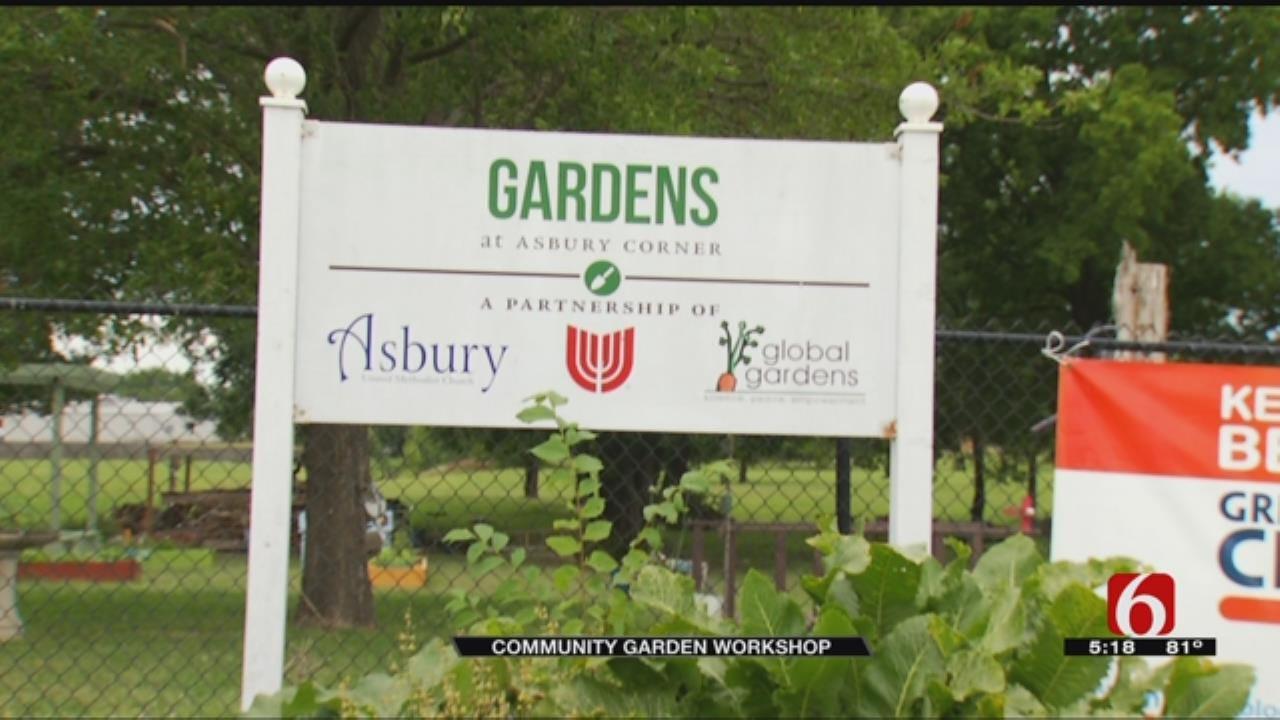 Community Garden Workshop Planned For Tulsa