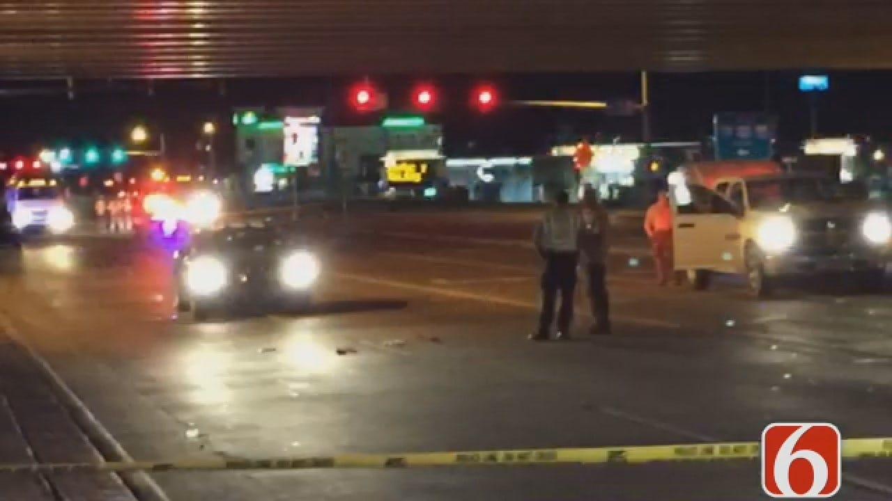 Joseph Holloway Says DUI Driver Critical After Jumping Off Tulsa Highway Bridge