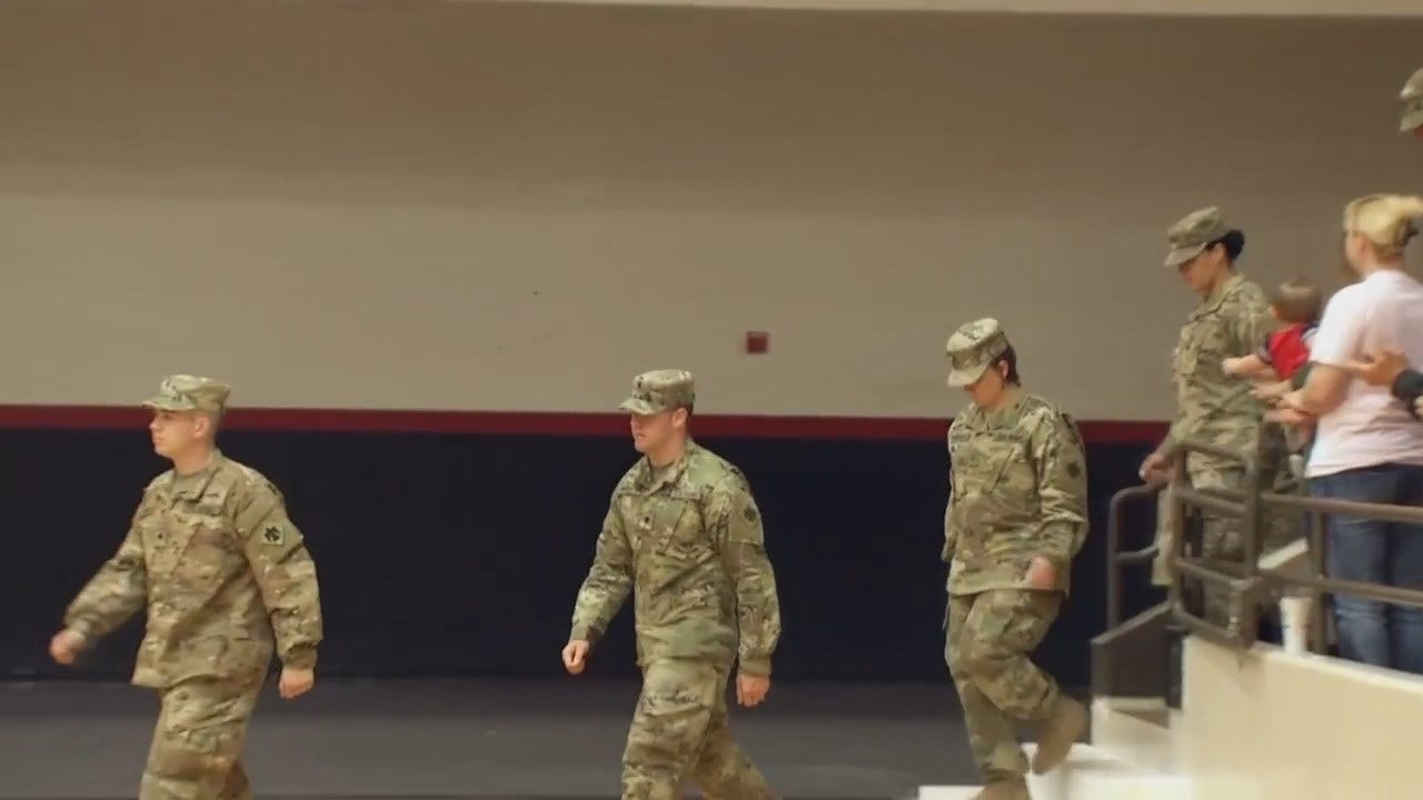 WEB EXTRA: National Guard Deployment Ceremony