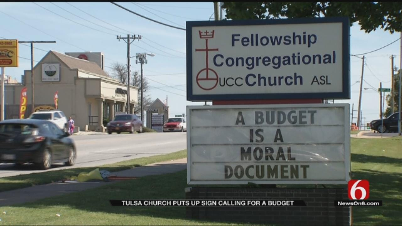 Tulsa Church Weighs In On Oklahoma's Budget Crisis