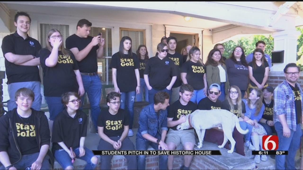 Owasso Students Donate To Outsiders House Project