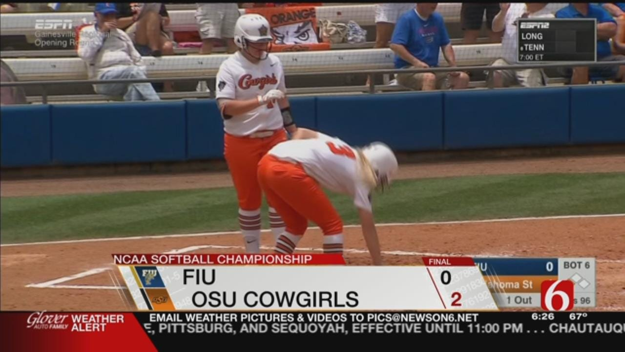 Needham Leads Cowgirls To Regional Win Over Florida International