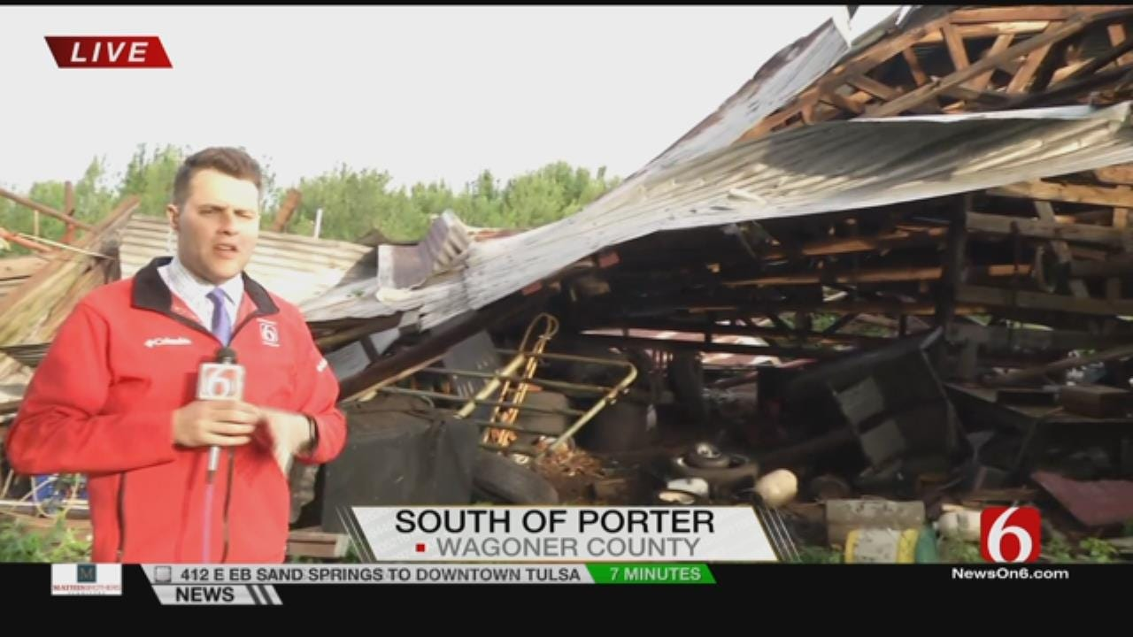 Porter Receives Significant Damage In Storms