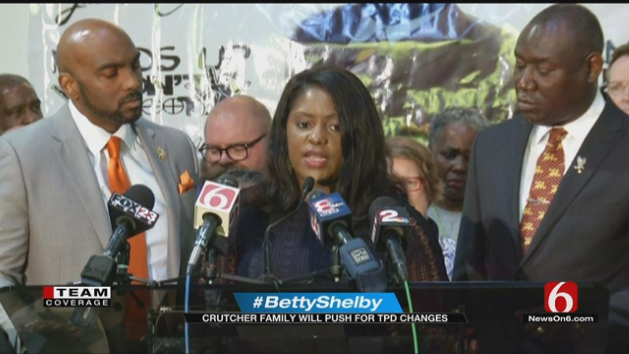 Crutcher Family: Betty Shelby 'Got Away With Murder'