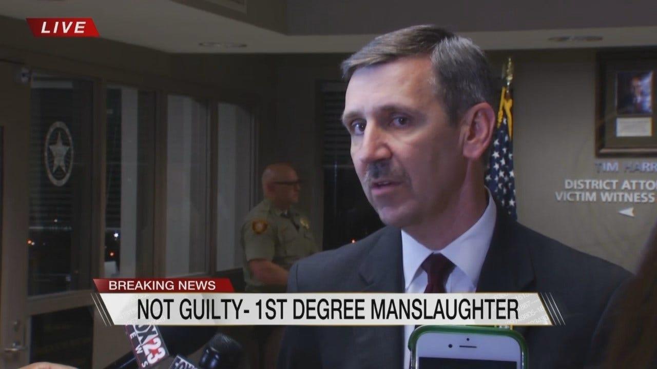 WEB EXTRA: Tulsa County DA Speaks After Shelby Verdict