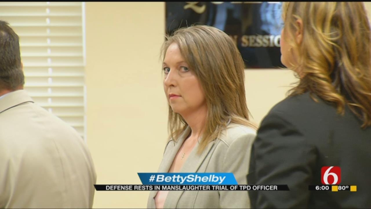 Defense Rests In Betty Shelby Manslaughter Trial
