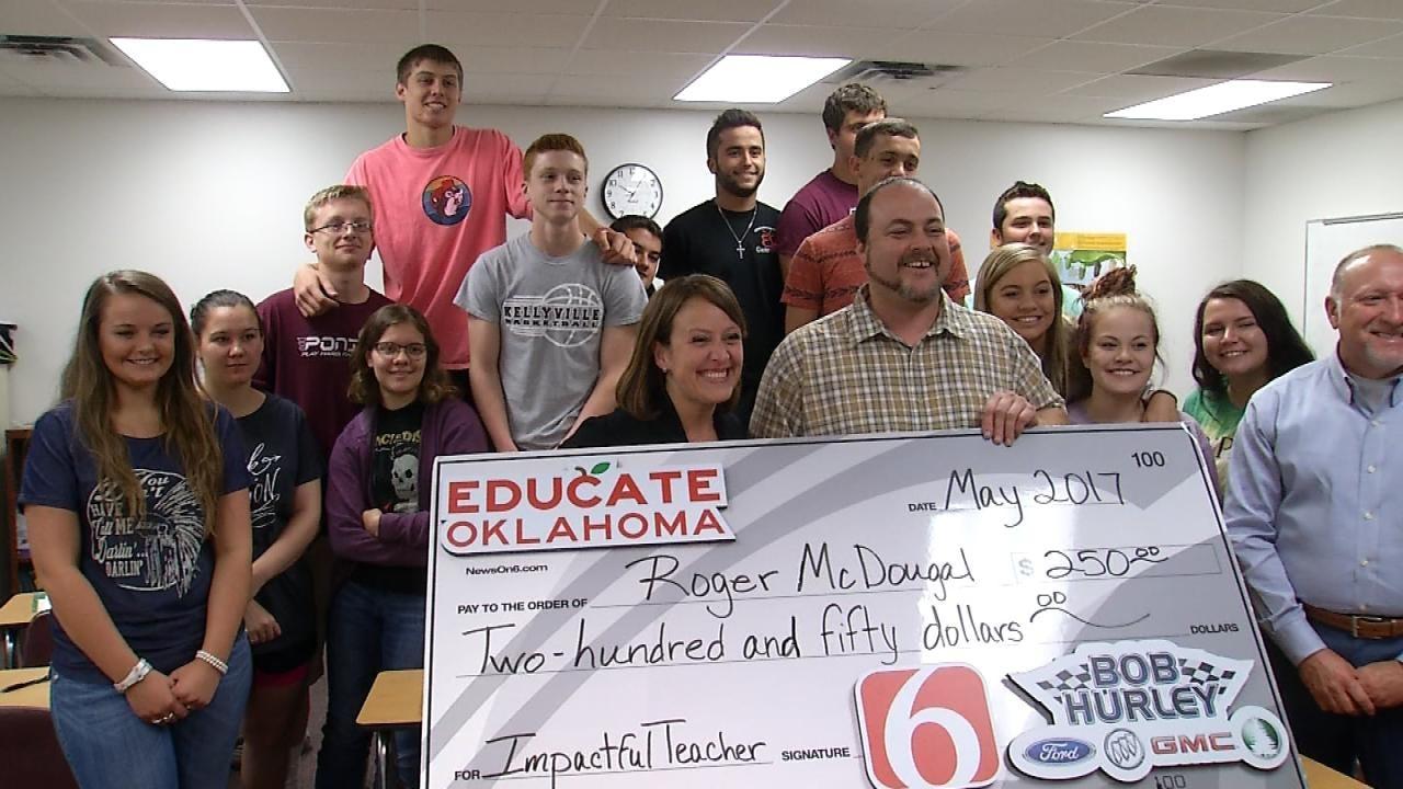 Kellyville High School Educator Selected As News On 6 'Impactful Teacher'