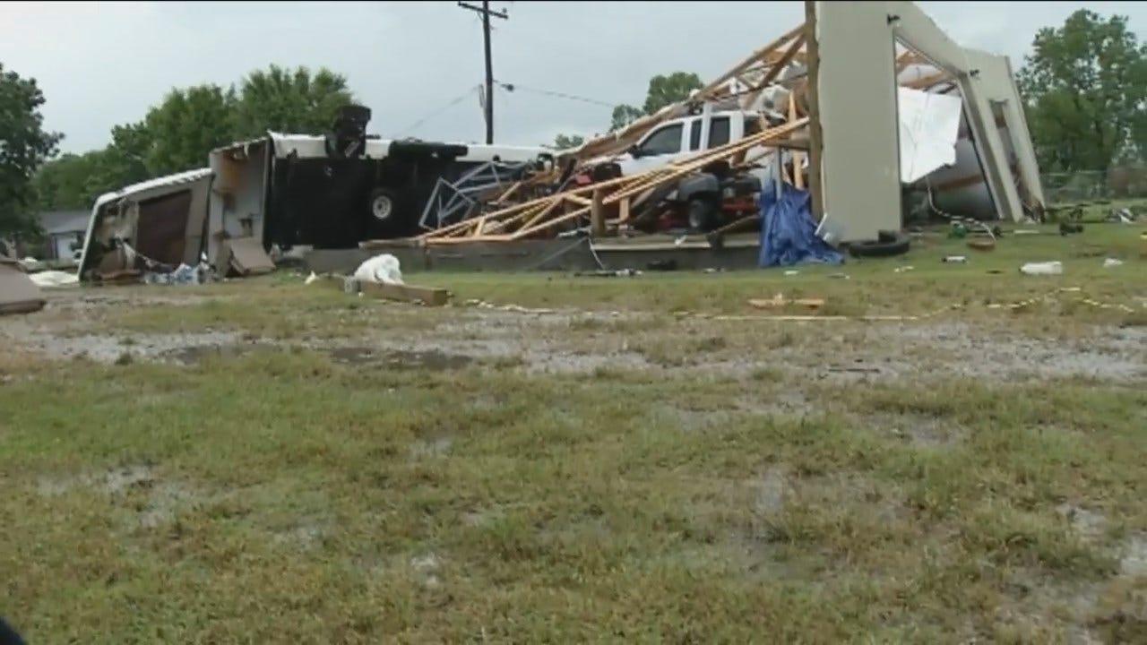 WEB EXTRA: Owasso Area Tornado Damage