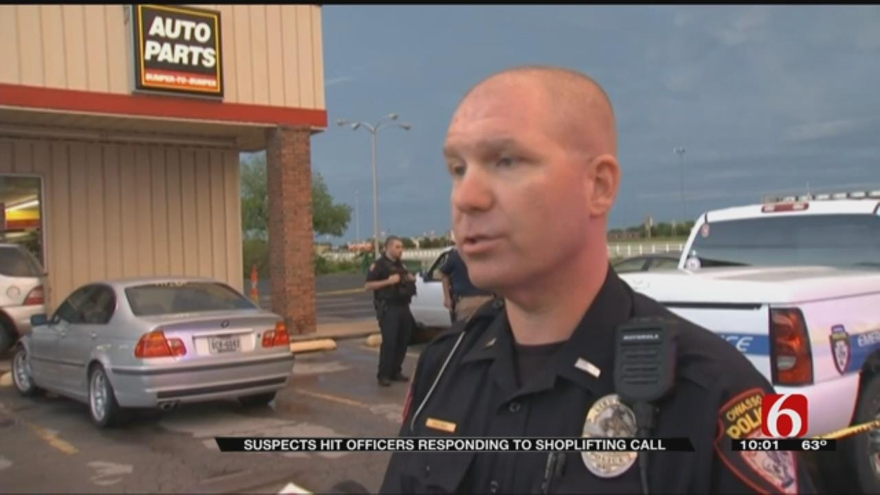 Owasso Police Officers In Serious Condition After Being Hit By Car