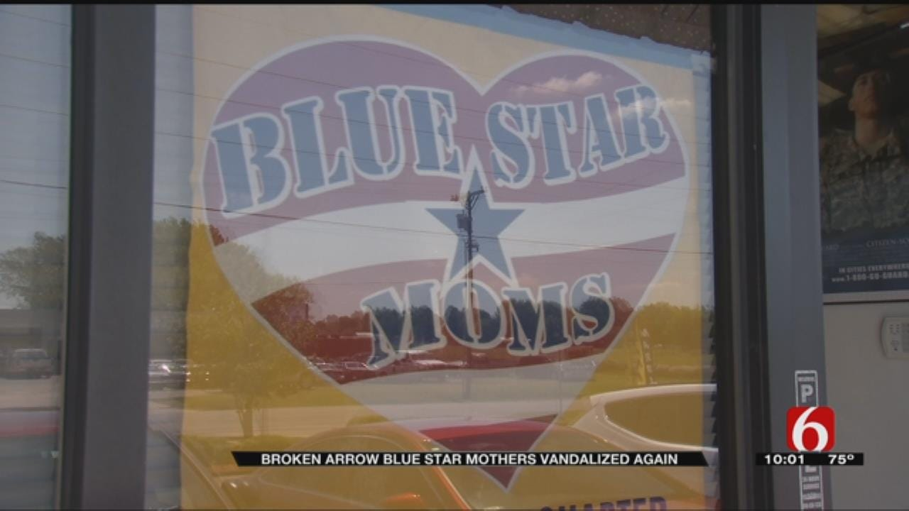 BA Blue Star Mothers Hit By Vandals For Second Time
