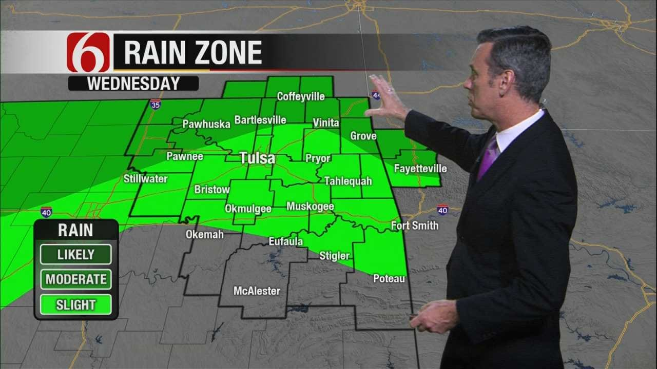 System Brings Storms To Area By Midweek