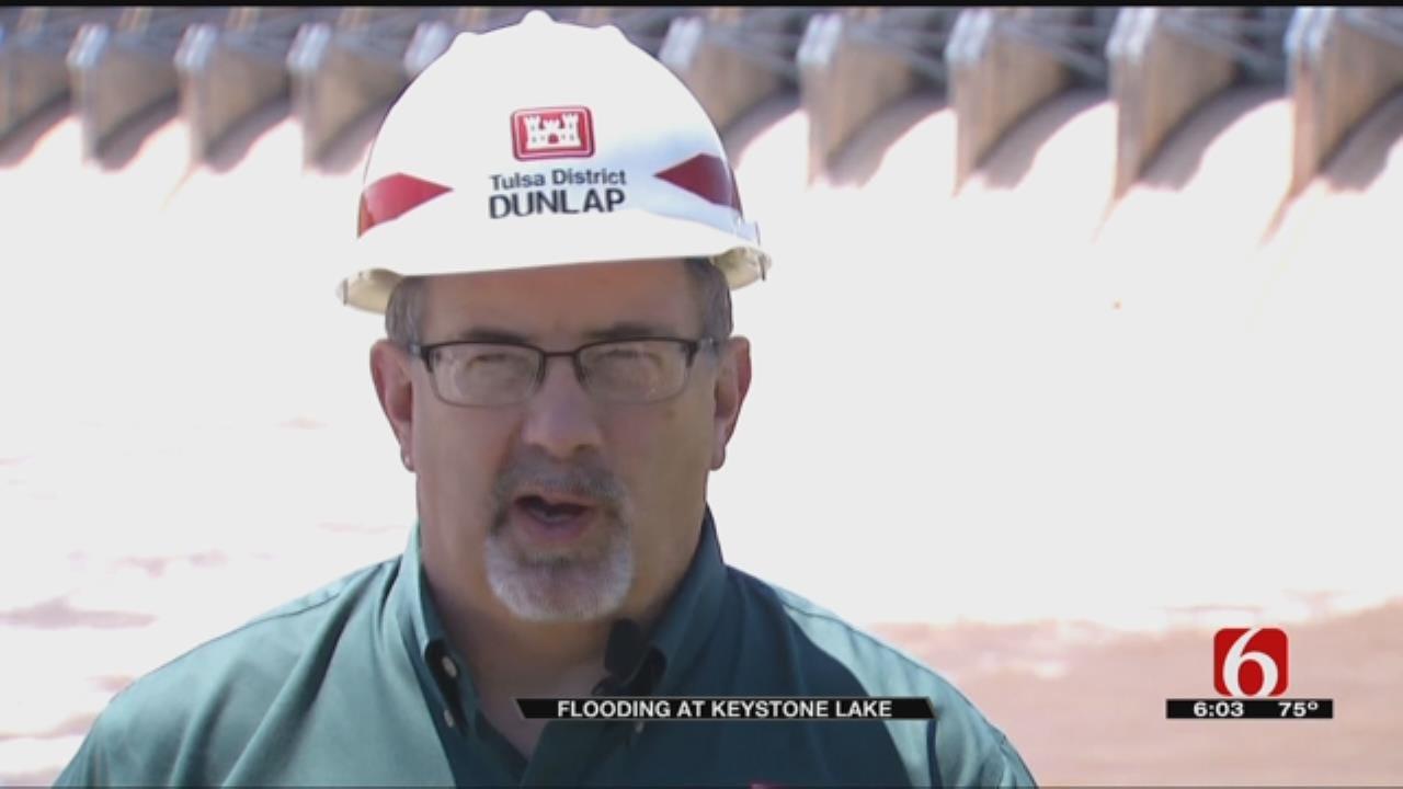 High Water Causes Headache For Keystone Lake Neighbors