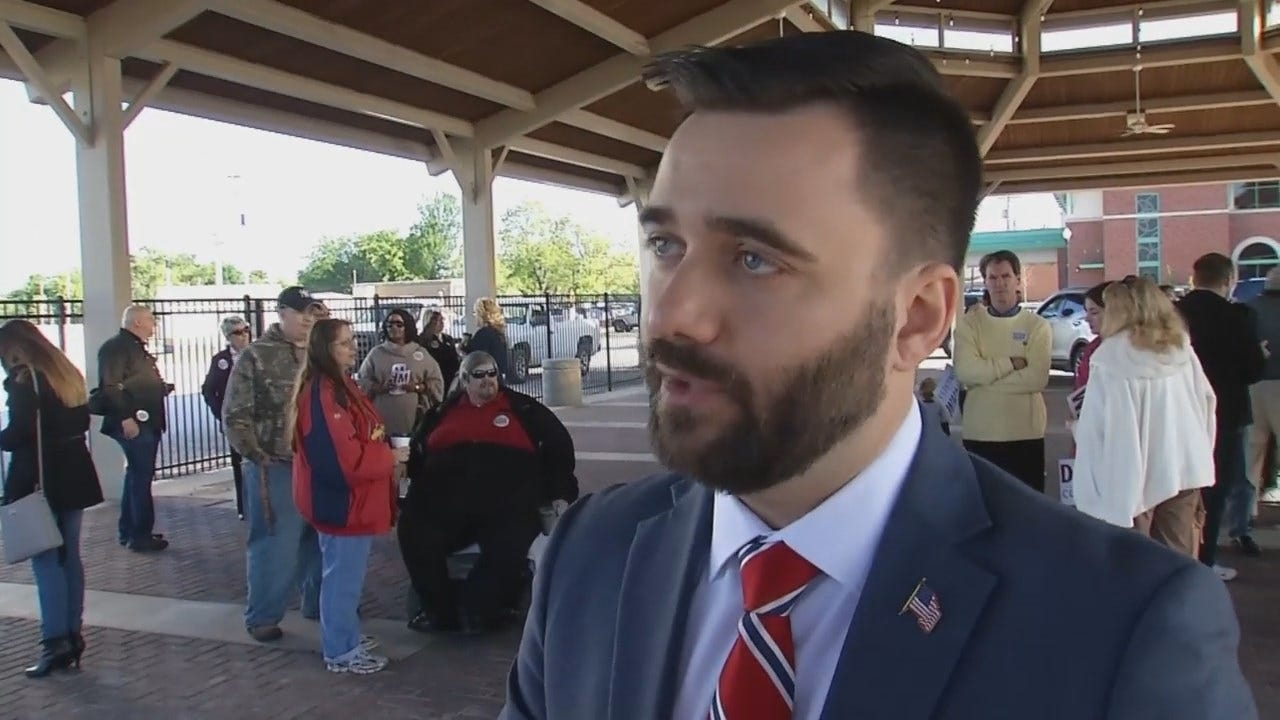 WEB EXTRA: State Senator Nathan Dahm Updates State Budget Talks At The Capitol