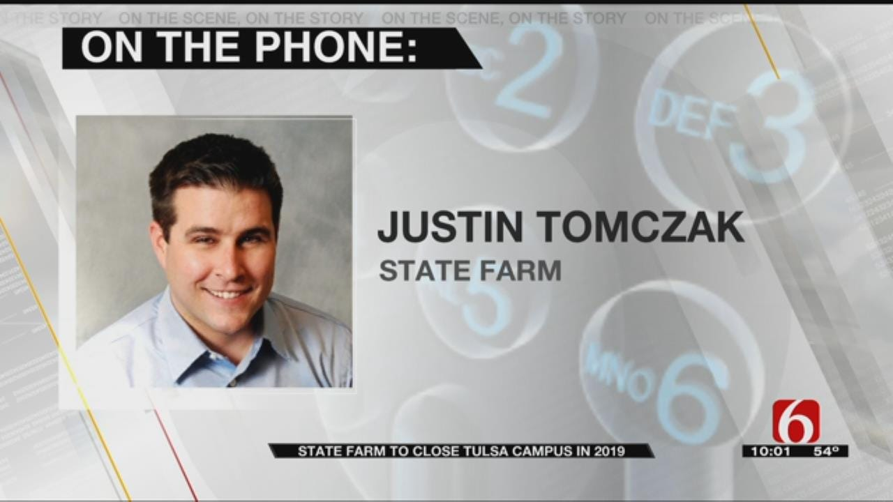 State Farm To Close Tulsa Center