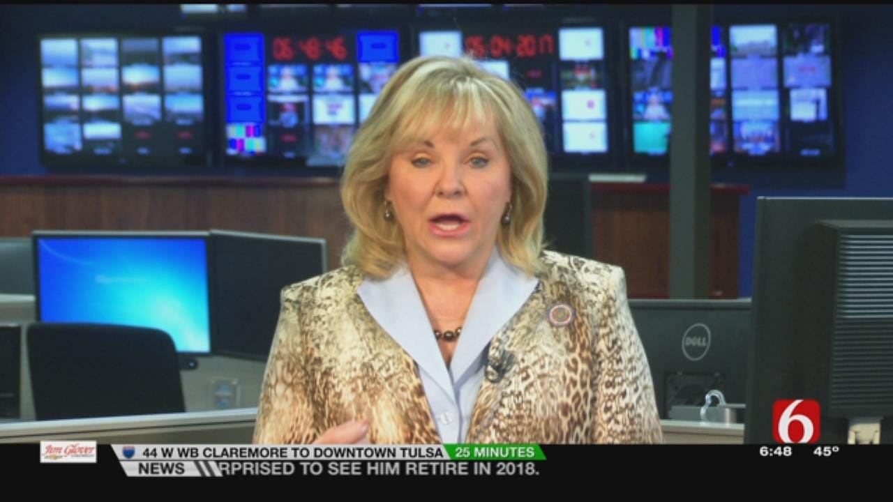 Governor Mary Fallin Talking With 6 In The Morning