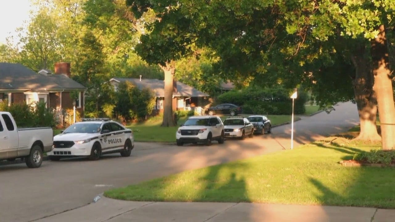 WEB EXTRA: Video From Crime Scene On East 22nd Place