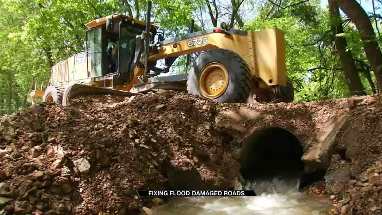 Delaware County Doing What They Can To Fix Damaged Roads