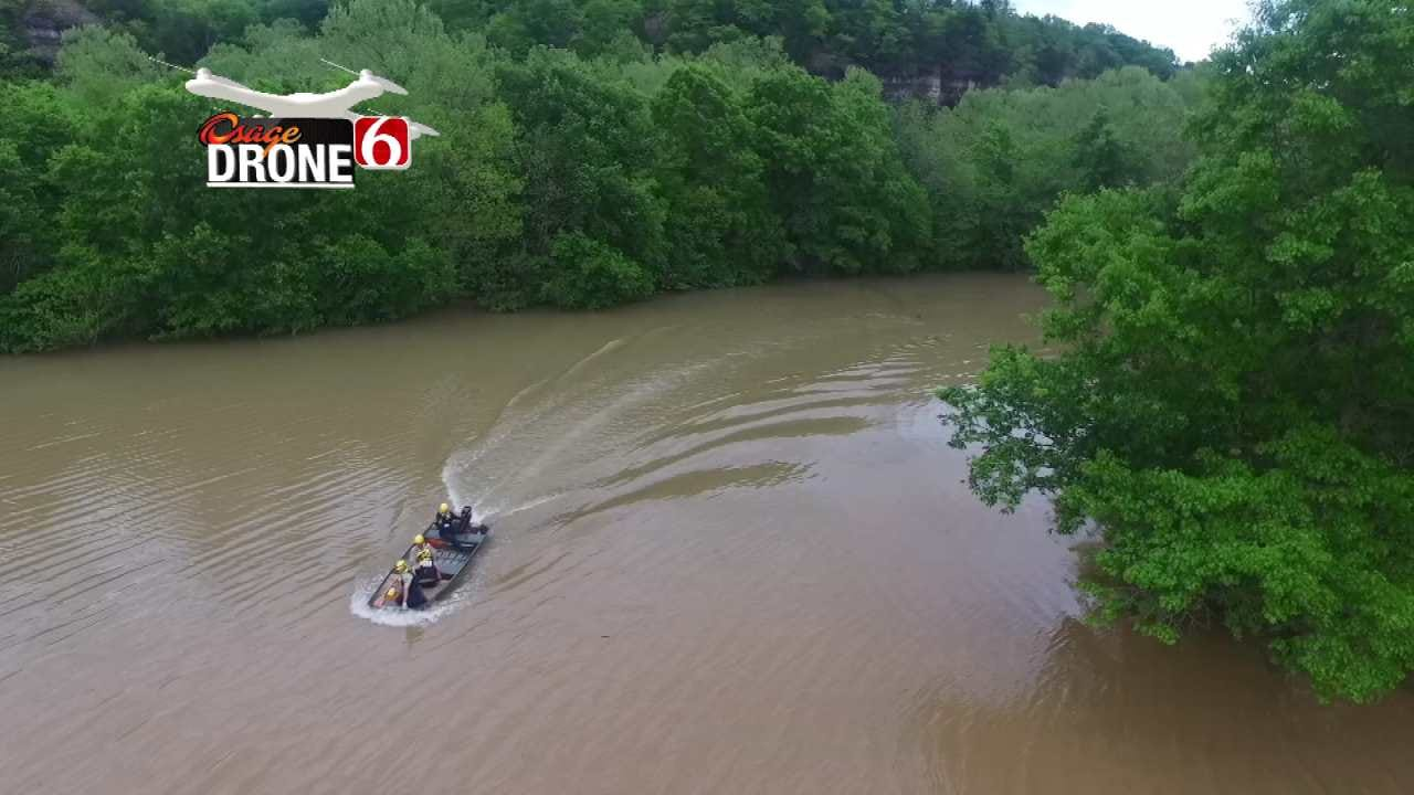 Drone 6 Helps Police Locate Man Stuck On Adair County Bridge