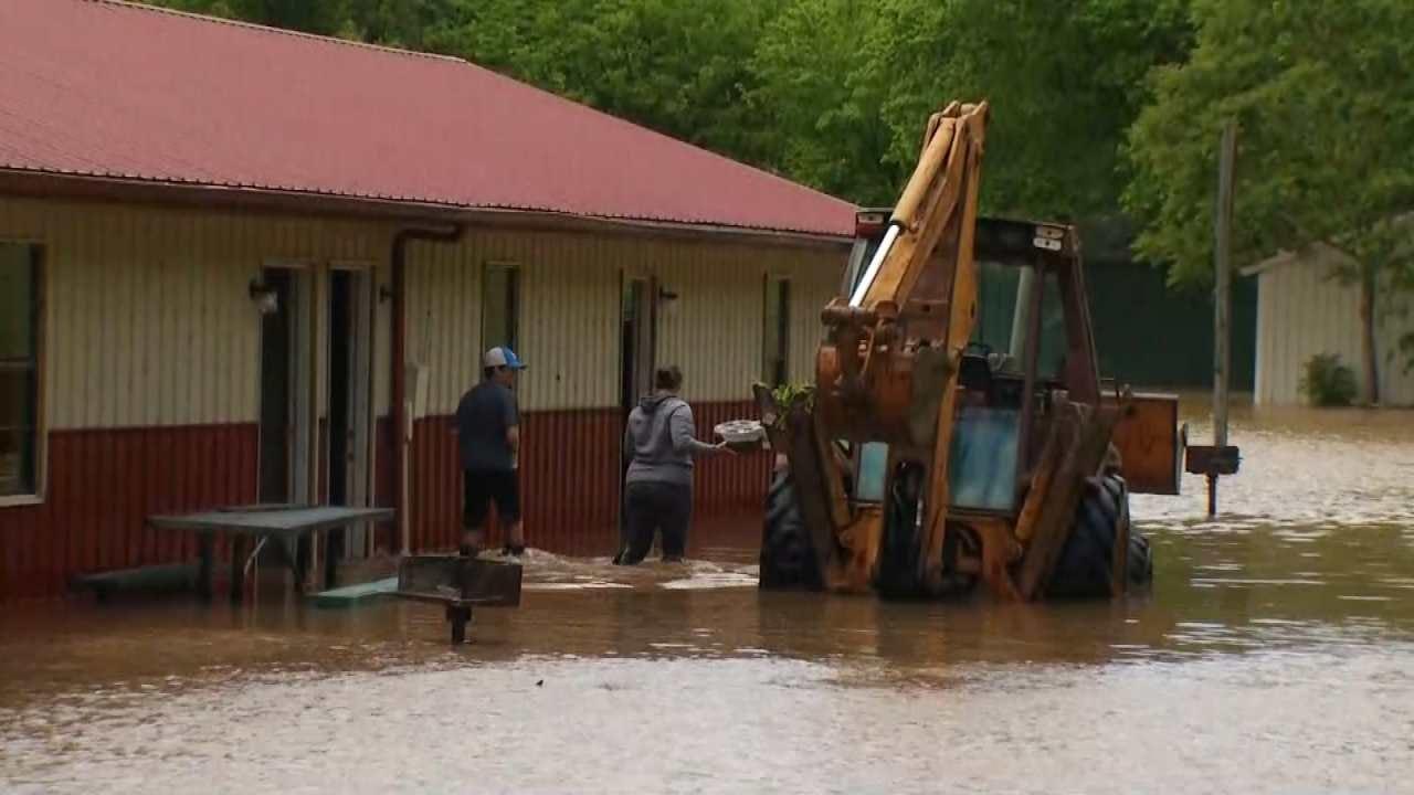 Katiera Winfrey: Cherokee County Residents Brace For Near-Record Level Flooding
