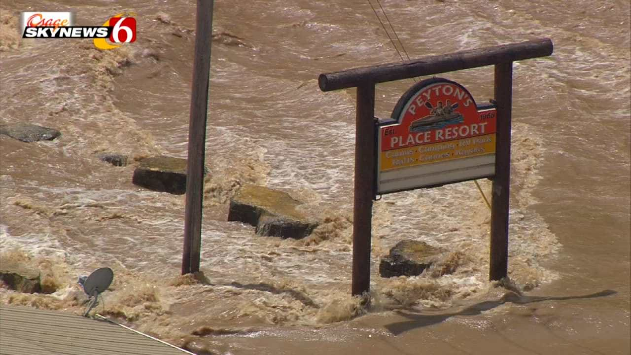 Record Flooding Predicted For Illinois River Near Tahlequah