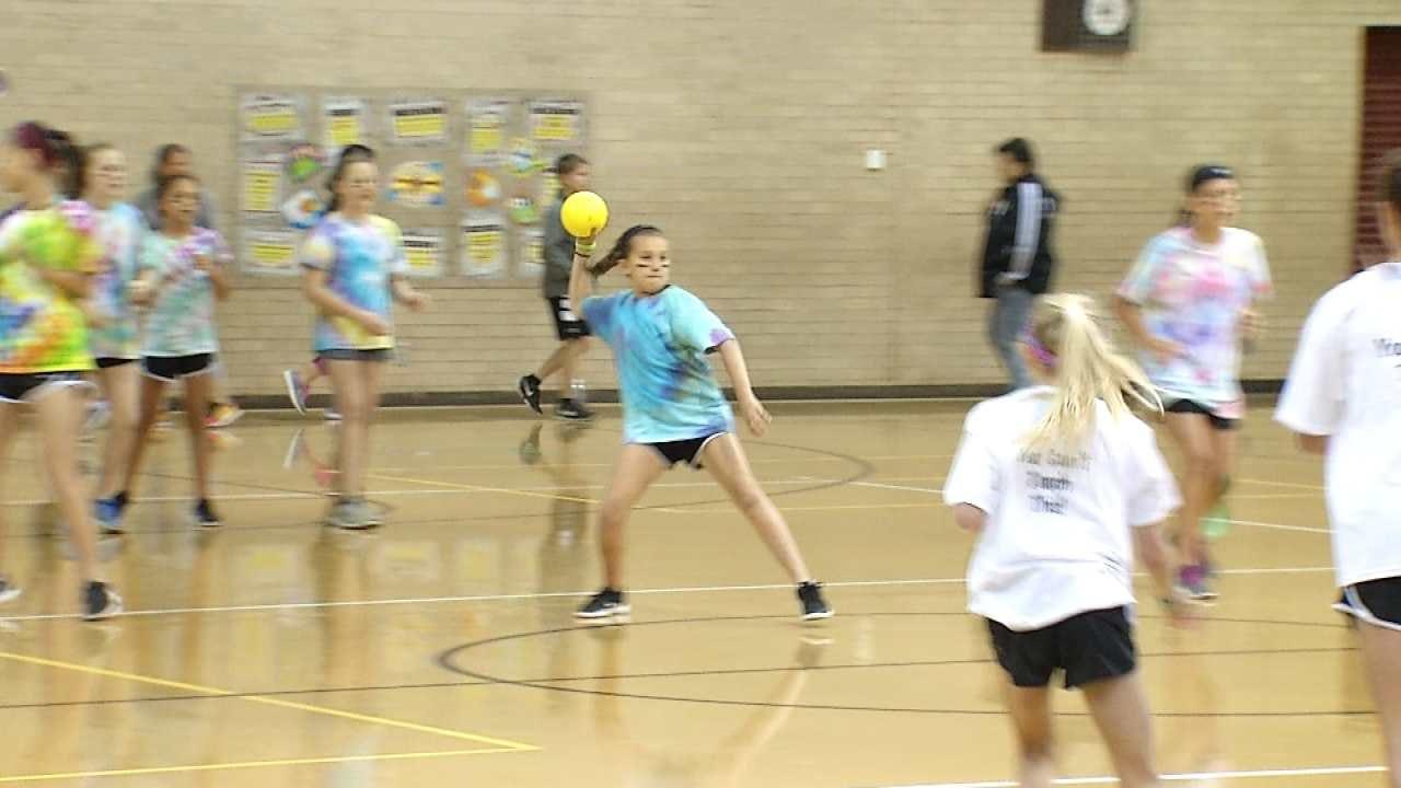 Jenks School Holds Dodgeball Tourney To Raise Money For Education