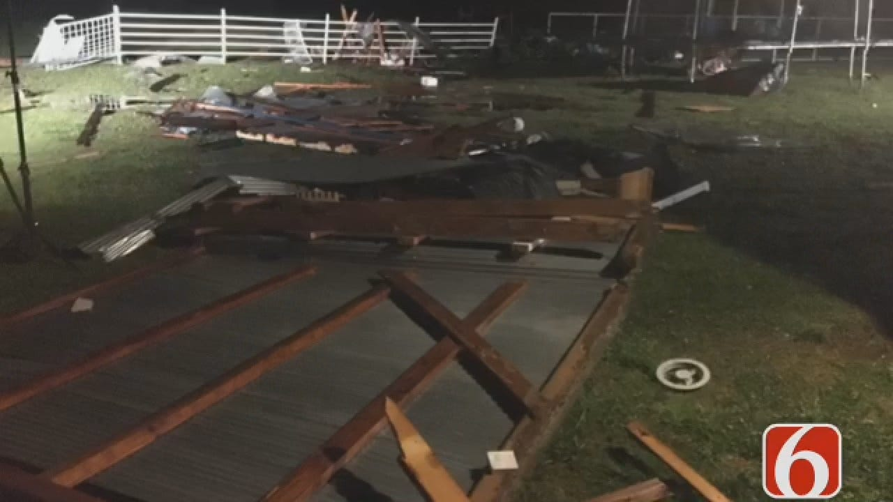 Joseph Holloway Reports On Mayes County Storm Damage