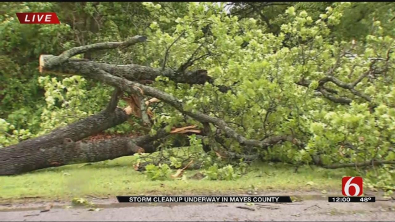 Rural Mayes County Hit Hard By Storms