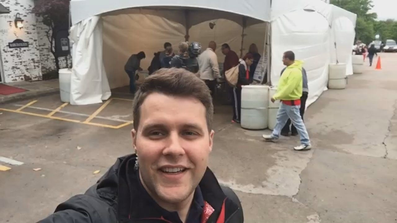 Dave Davis Says Dozens Waiting For Free Dental Care At A Tulsa Clinic