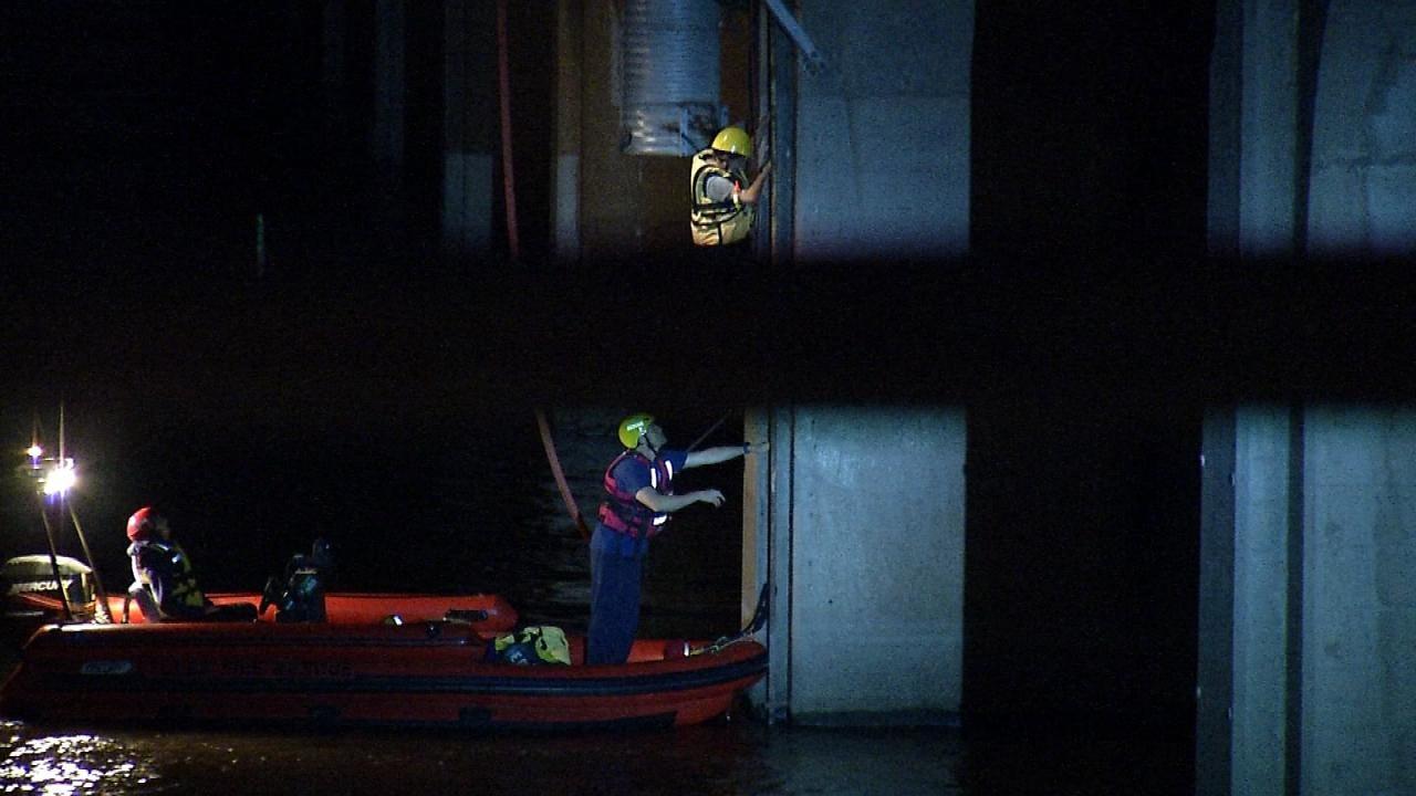 Joseph Holloway Reports On Arkansas River Bridge Rescue
