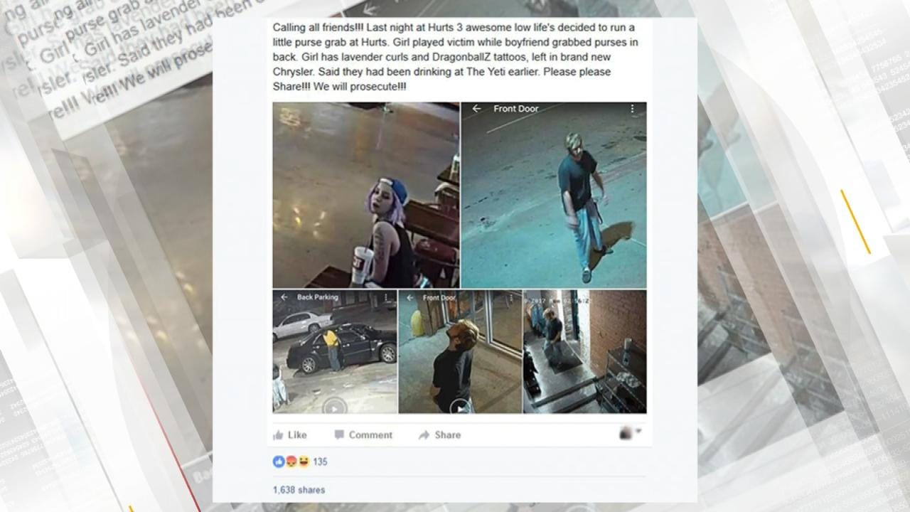 Dave Davis: Surveillance Photos Posted Of Hurts Donut Larceny
