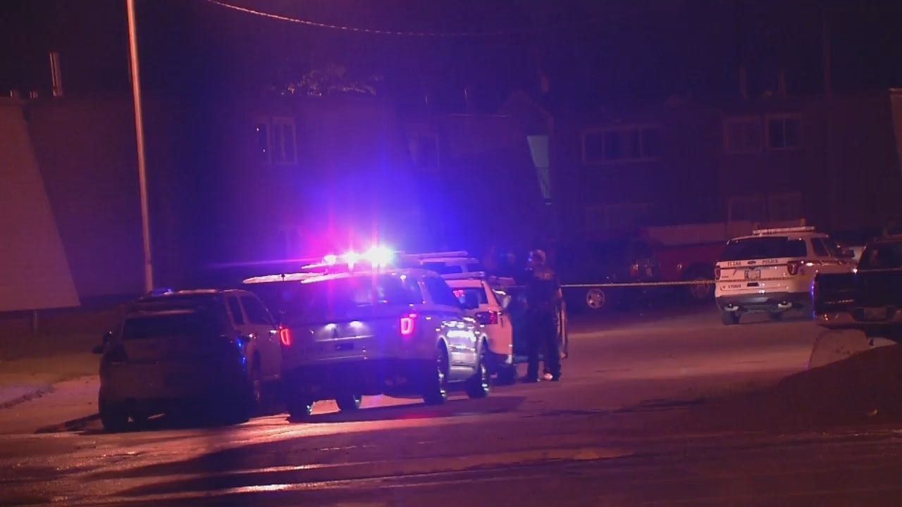 WEB EXTRA: Video From Scene Of Tulsa Apartment Complex Shooting