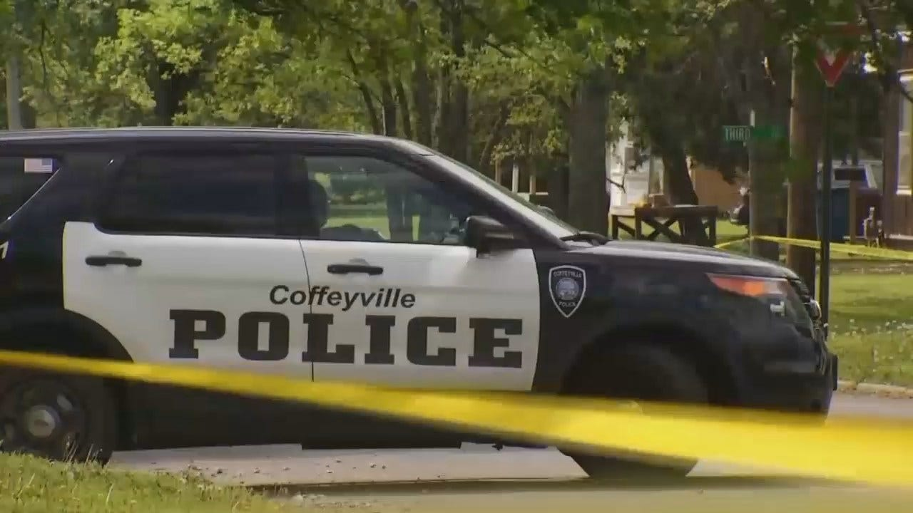 WEB EXTRA: Video From Scene Of Triple Homicide In Coffeyville