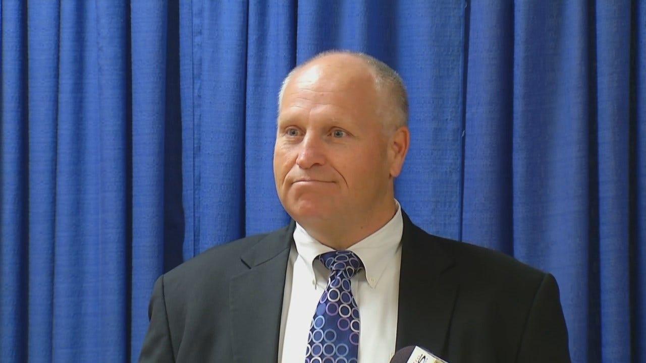 WEB EXTRA: Tulsa County's New Jail Administrator David Parker Talks About His Job