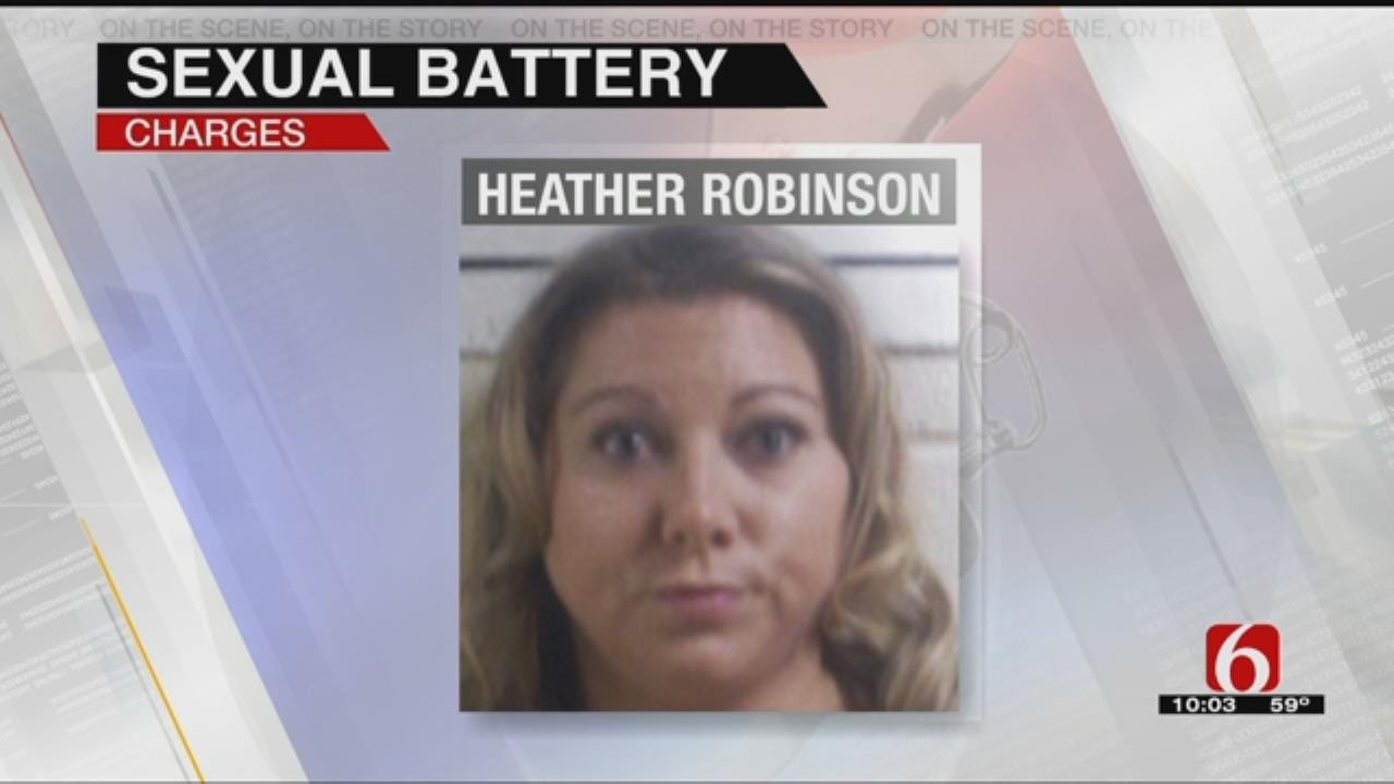 Porum Substitute Teacher Charged With Sexual Battery